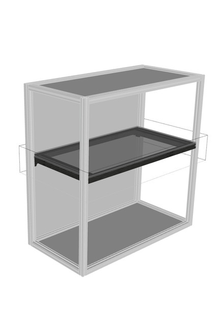 DF30 adjustable full shelf