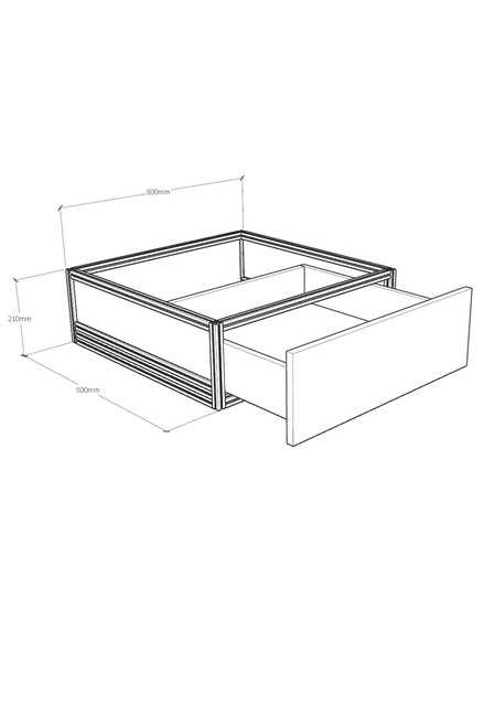 DF series risers with drawer
