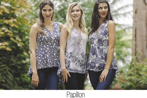 Papillon PT-05098 Snakeskin Blouse (056677)