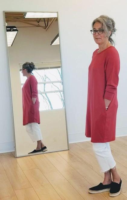 Bamboo French Terry Raglan Dress