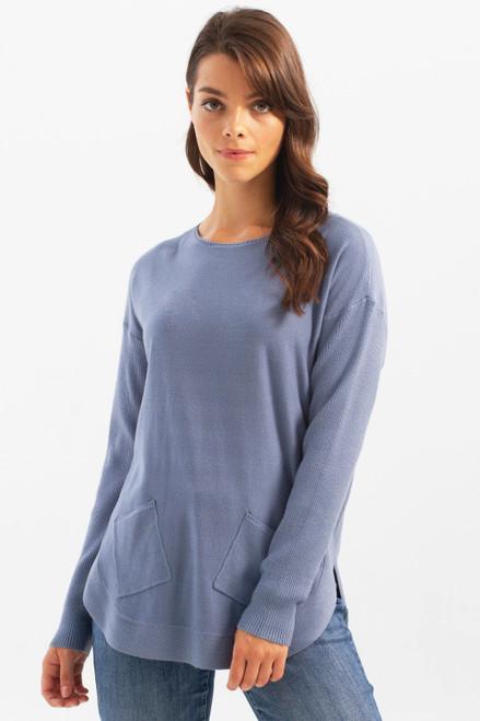 Charlie B Plushy Yarn Sweater with Pockets (30022)