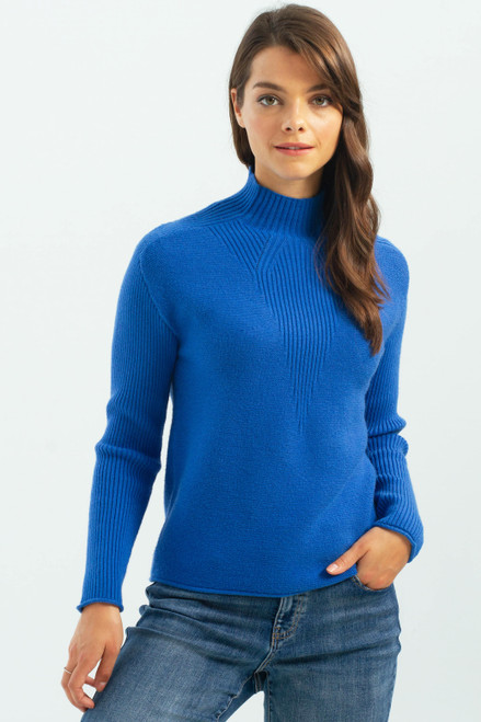 Charlie B Funnel Neck Sweater C2273 (30022)