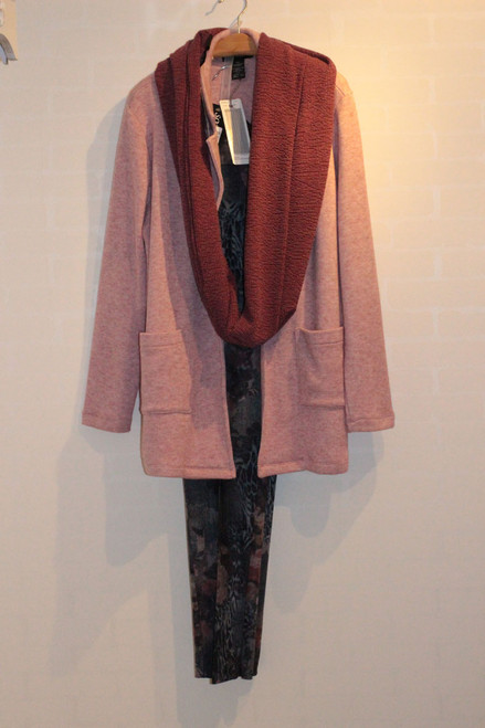 Soft Works rayon rose jacket 21704
