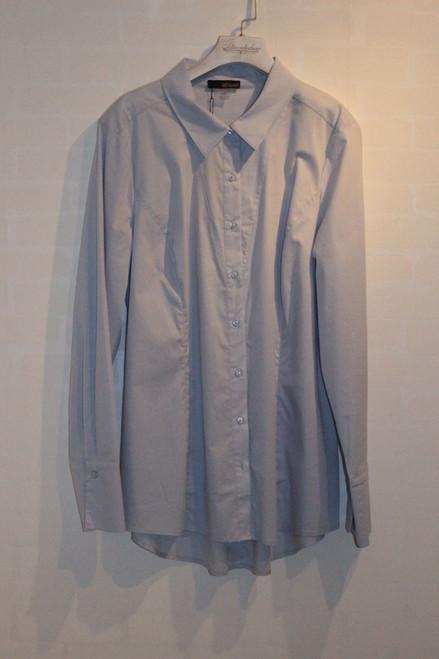 Renuar baby blue blouse 80479C