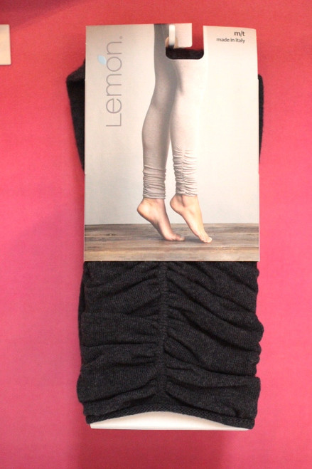 Lemon Cotton Scrunched Leggings  41580 (Black)P