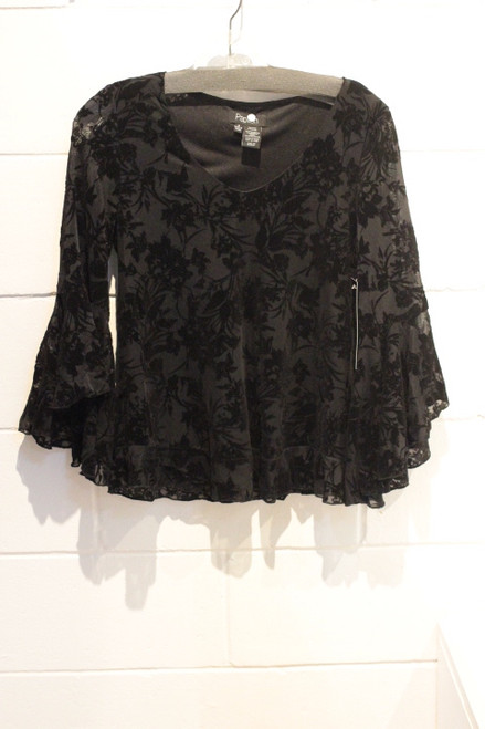 Papillon TOP PT-02032 (Black) P