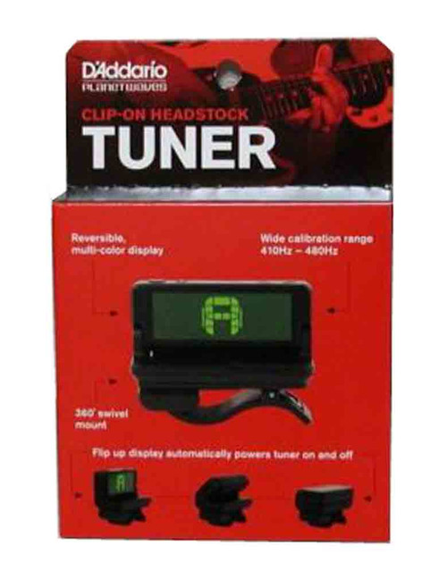 Planet Waves Chromatic Tuner Headstock