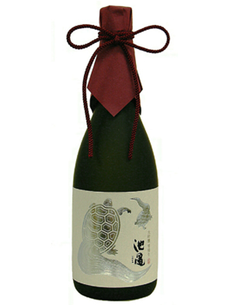 This sake has  a mature taste reminiscent of fruits.