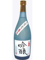We stocked freshly squeezed ginjo sake and stored it in a bottle. It is a semi dry sake characterized by a slightly brilliant fruity and Fragrant ginjo.
