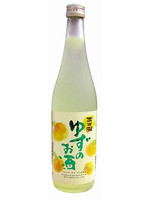 This Yuzu wine with clean refreshing flavor is fruit liquor made from Japanese sake.