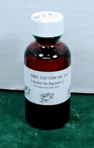 ACEITE ALGODON 1 OZ - COTTON OIL 1 OZ