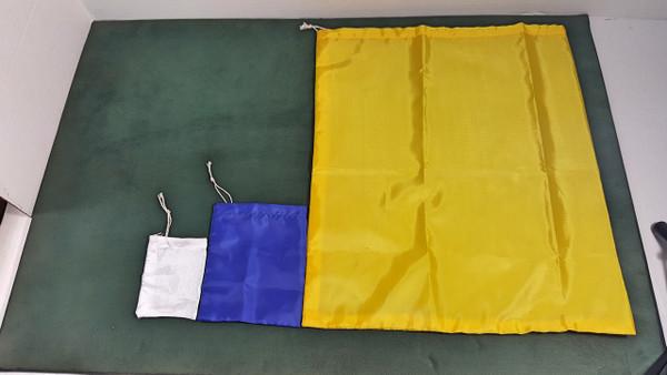 """BOLSA 12""""x14"""" DE TELA - CLOTH BAG 12""""x14"""""""