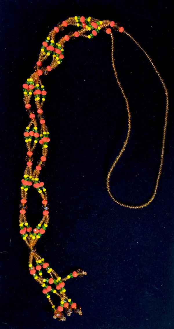 COLLAR CABECERA OSHUN OLOLORDI CRYSTAL CROWN ILEKE 74525