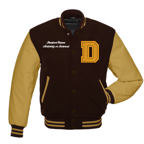 DHS Letter Jacket Front