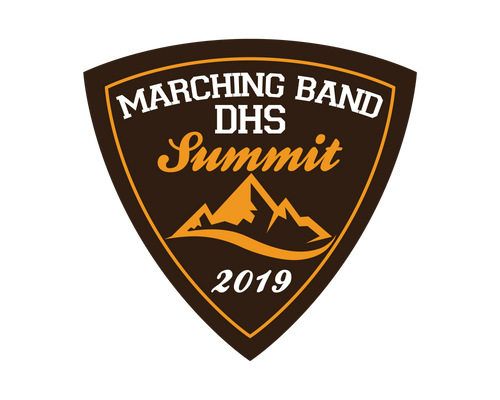DHS Marching Band 2019 Patch