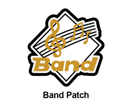 "3"" Band & Music Patches"