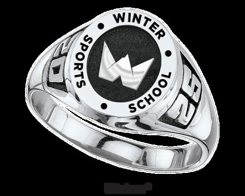 Winter Sports School Ring