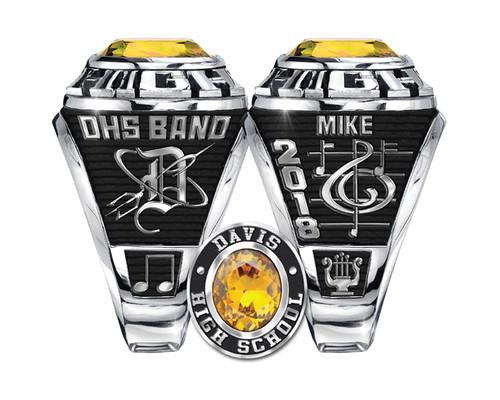 Davis HS Band Ring
