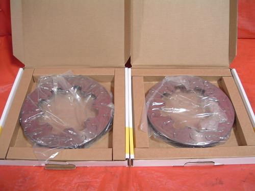 Pair of AP Directional Vane J-Hook Brake Rotors