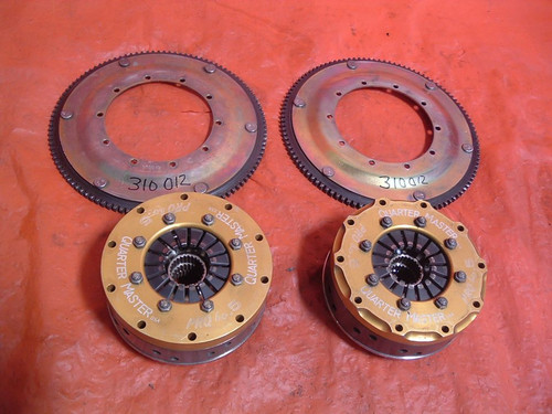 "One Quarter Master Pro Series 4.5"" triple disc clutch w/ ring gear"