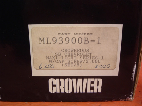 Brand new set of Crower small block Chevy Maxi-lite rods