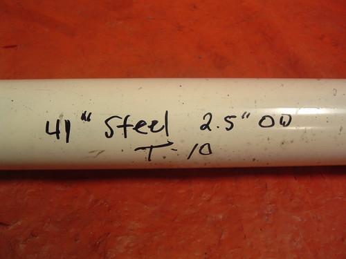 """41"""" steel driveshaft w/ T-10 yoke"""