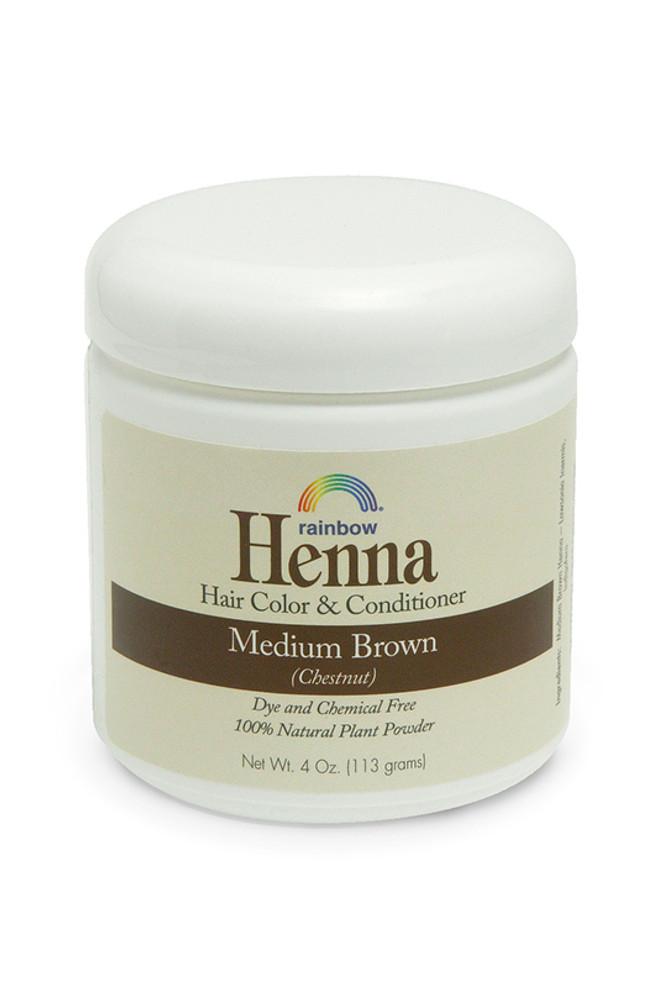 Henna Medium Brown 4oz 17oz 34oz Rainbow Research Corporation