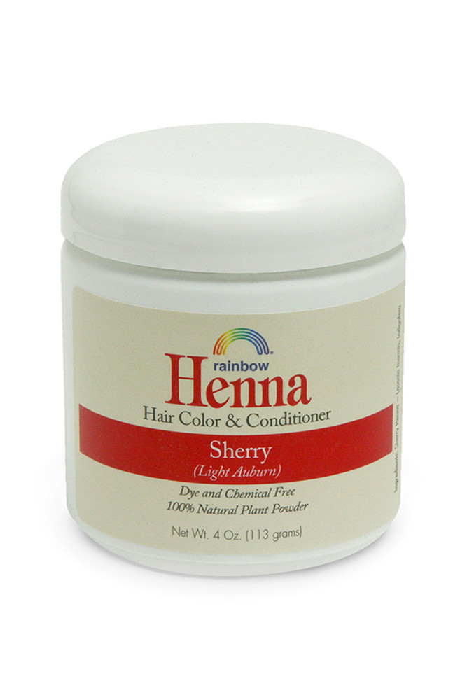 Henna Sherry 4oz,17oz,34oz.