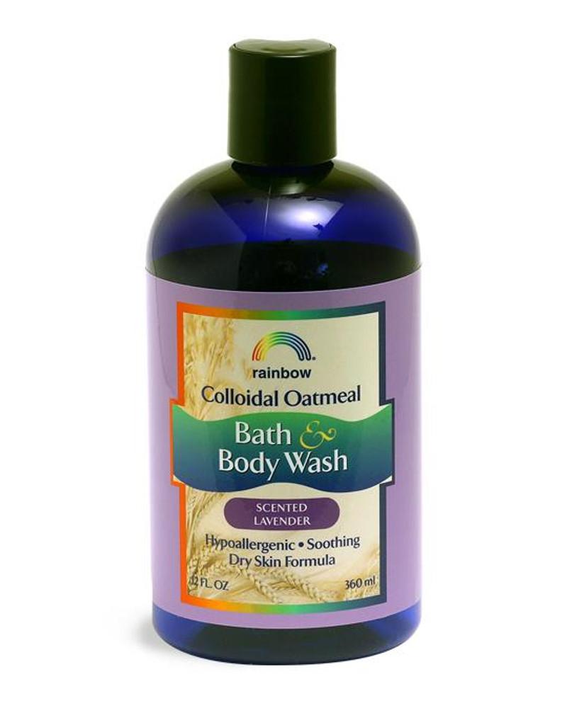 Colloidal Oatmeal Body Wash Lavender 12oz