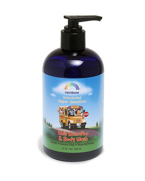 Kids Shampoo & Body Wash Unscented 12oz