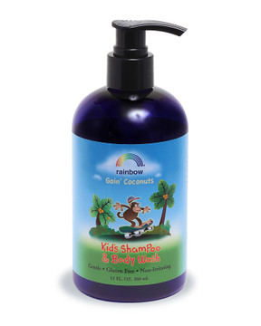 Kids Shampoo & Body Wash  Goin' Coconuts 12oz & 32oz