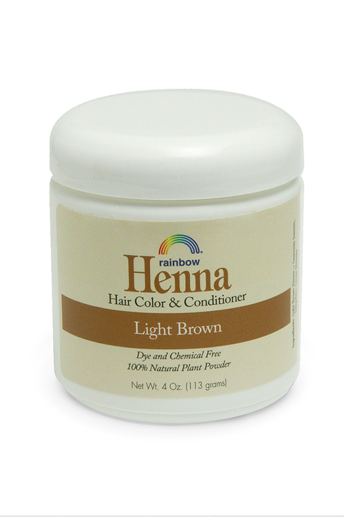 Henna Light Brown 4oz,17oz,34oz.