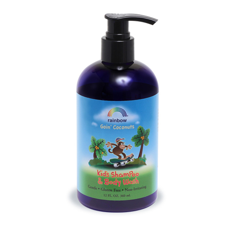 Kids Shampoo & Body Wash  Goin' Coconuts