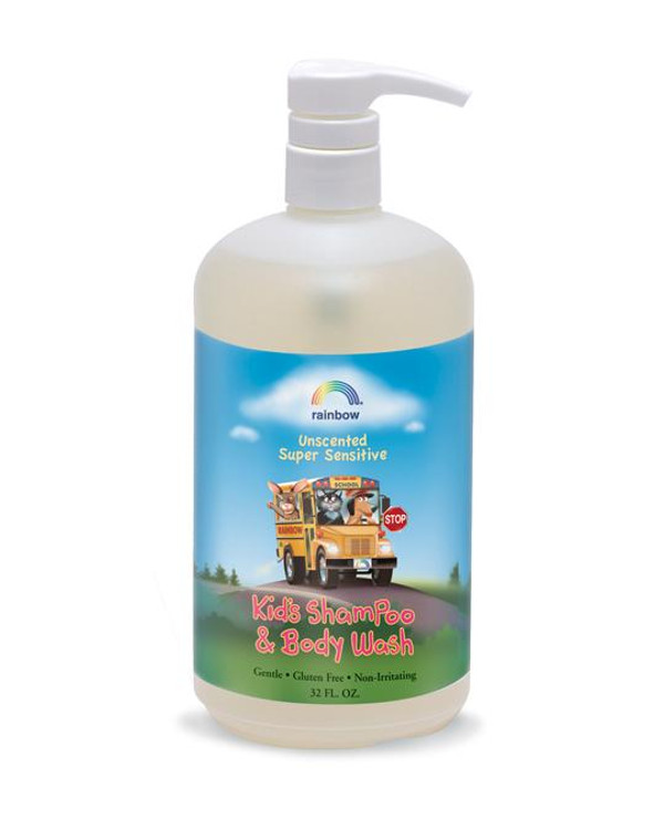 Kids Shampoo Unscented 32oz