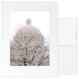 Greeting Card – Snowy Trees (3-pack)