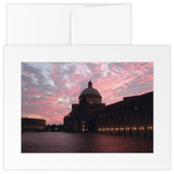 TMC, Reflecting Pool at sunset (3pk)
