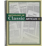 Anthology of Classic Articles, Volume 3 – Front