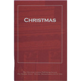 """""""Christmas"""" pamphlet — Front cover"""