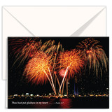 Greeting Card – Fireworks (3-pack)