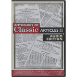 Anthology of Classic Articles, Volume 2 – Audiobook (CD) – Front