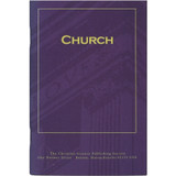 """""""Church"""" pamphlet — Front cover"""