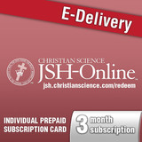 3 month JSH-Online Prepaid Subscription (E-Delivery Code)