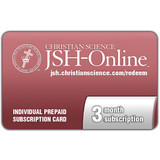 3 month JSH-Online Prepaid Subscription Card