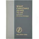 What Christmas Means to Me - Front Cover
