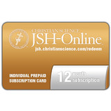 12-month JSH-Online Prepaid Subscription Card
