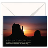 Greeting Card – Desert at Sunset (3-pack)