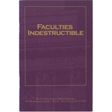 Faculties Indestructible (pamphlet 3 pack) — Front cover