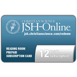 12 month JSH-Online Reading Room Prepaid Subscription Card