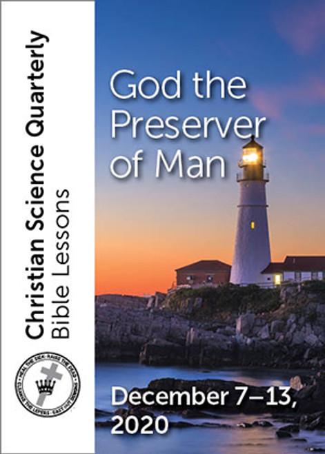 Digital Bible Lesson: God the Preserver of Man, Dec 13, 2020 (eBook MOBI)