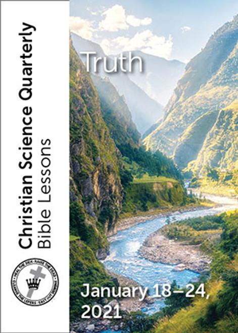 Digital Bible Lesson: Truth, Jan 24, 2021 – Audio (MP3)